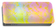 Portable Battery Charger featuring the photograph Summer Joy Abstract by Judy Palkimas