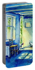 Summer Morning Visitors  Portable Battery Charger