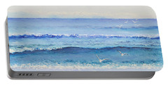 Summer Seascape Portable Battery Charger