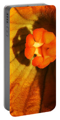 Portable Battery Charger featuring the photograph Summer Squash Blossom by Jennifer Muller