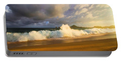 Portable Battery Charger featuring the photograph Summer Storm by Eti Reid