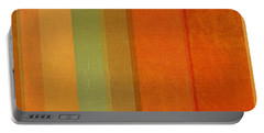 Summer Stripes Portable Battery Charger by Michelle Calkins