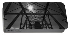 Summer Sun On Shelby Street Bridge Portable Battery Charger by Dan Sproul