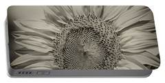 Portable Battery Charger featuring the photograph Summer Sunflower by Wilma  Birdwell