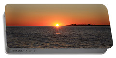 Portable Battery Charger featuring the photograph Summer Sunset by John Telfer