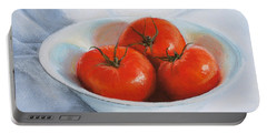 Summer Tomatoes Portable Battery Charger