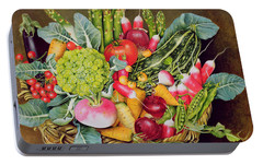 Summer Vegetables Portable Battery Charger by EB Watts