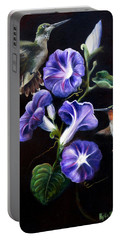 Portable Battery Charger featuring the painting Sumptuous Delight by Phyllis Beiser
