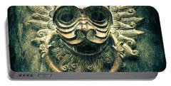 Sun Cat Door Knocker Portable Battery Charger