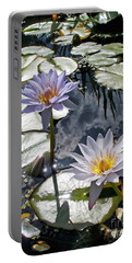 Sun-drenched Lily Pond         Portable Battery Charger