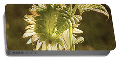 Portable Battery Charger featuring the photograph Sun-lite Sunflowwer by Donna Brown