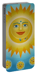 Sun-moon-stars Portable Battery Charger