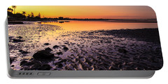 Sun Sets On Bramble Bay Portable Battery Charger