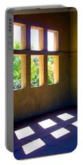 Sun Thru Windows Adobe Architecture Portable Battery Charger