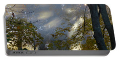 Portable Battery Charger featuring the photograph Sunbeam Morning by Dianne Cowen