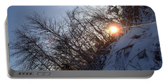 Portable Battery Charger featuring the photograph Sunbeam by Robert Nickologianis