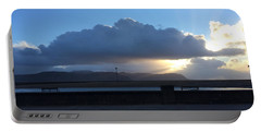 Sunbeams Over Conwy Portable Battery Charger