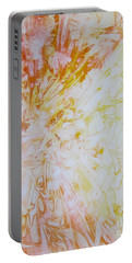 Sunburst Portable Battery Charger by Heather  Hiland