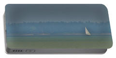 Sunday Sailing  Portable Battery Charger by Daniel Thompson