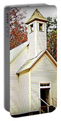 Portable Battery Charger featuring the photograph Sunday School by Faith Williams