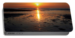 Sundown At The North Sea Portable Battery Charger