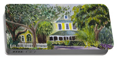 Sundy House In Delray Beach Portable Battery Charger by Donna Walsh