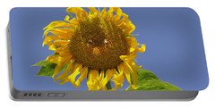 Sunflower At Latrun Portable Battery Charger