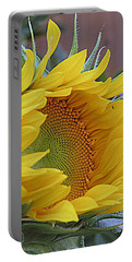 Sunflower Awakening Portable Battery Charger by Kay Novy