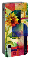 Sunflower Collage Portable Battery Charger