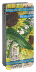 Sunflower Dictionary 1 Portable Battery Charger