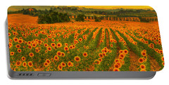 Sunflower Dream Portable Battery Charger by Midori Chan