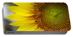 Sunflower Face Portable Battery Charger