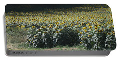 Sunflower Fields 2 Portable Battery Charger