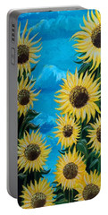 Sunflower Fun Portable Battery Charger