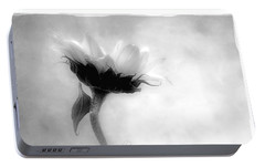 Portable Battery Charger featuring the photograph Sunflower In Profile by Louise Kumpf