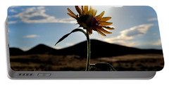 Portable Battery Charger featuring the photograph Sunflower In The Sun by Matt Harang