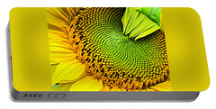 Sunflower Kaleidescope Portable Battery Charger