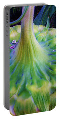 Portable Battery Charger featuring the photograph Sunflower...moonside 1 by Daniel Thompson