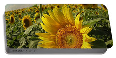 Kansas Sunflowers Portable Battery Charger