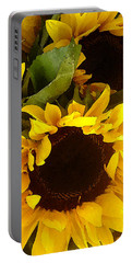 Sunflowers Tall Portable Battery Charger