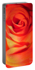 Sunkissed Orange Rose 10 Portable Battery Charger