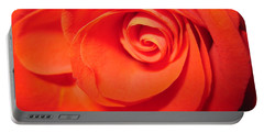 Sunkissed Orange Rose 9 Portable Battery Charger