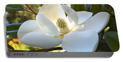 Sunlit Southern Magnolia Portable Battery Charger