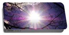 Portable Battery Charger featuring the photograph Sunny Afternoon by Sherman Perry