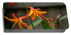 Sunny Crocosmia Portable Battery Charger