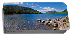 Sunny Day On Jordan Pond   Portable Battery Charger