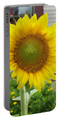 Portable Battery Charger featuring the photograph Bright Sunflower Happiness by Belinda Lee