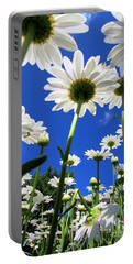Sunny Side Up Portable Battery Charger by Pamela Clements