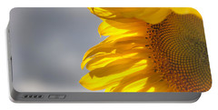 Portable Battery Charger featuring the photograph Sunny Sunflower by Cheryl Baxter