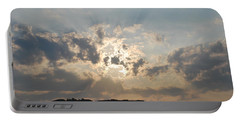 Portable Battery Charger featuring the photograph Sunrise 1 by George Katechis